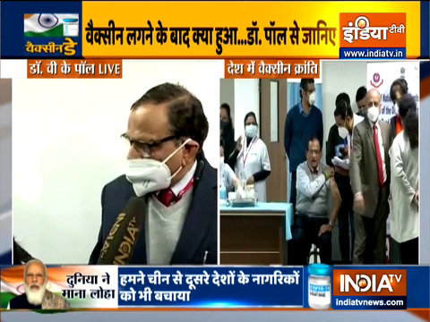 We have two made in India vaccines licensed today, both are great vaccines: Dr VK Paula
