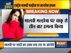 Mumbai: Actress Malvi Malhotra attacked with knife, admitted in hospital