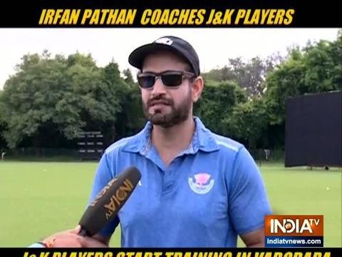 Jammu & Kashmir players begin practice in Baroda