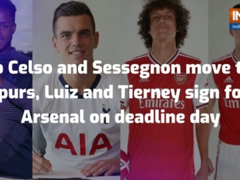 Lo Celso and Sessegnon move to Spurs, Luiz and Tierney sign for Arsenal on deadline day