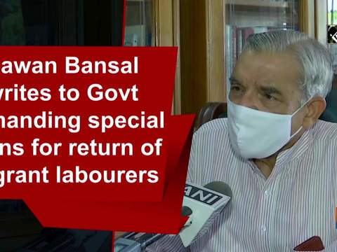 Pawan Bansal writes to Govt demanding special trains for return of migrant labourers