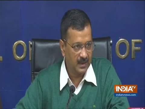दिल्ली के सीएम केजरीवाल ने कहा कि नई डीटीसी बसों में सीसीटीवी और पैनिक बटन लगाए जाएंगे
