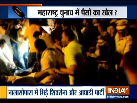 महाराष्ट्र चुनाव 2019: मतदान से पहले मुंबई के नालासोपारा में हुई झड़प