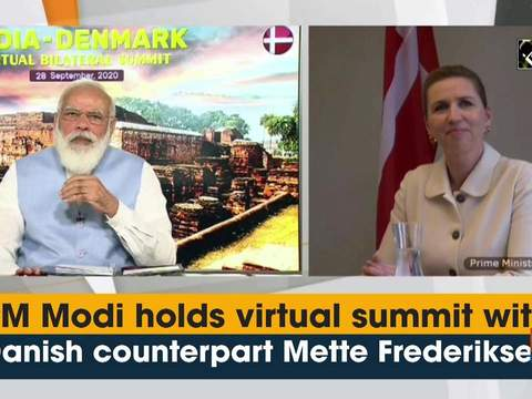PM Modi holds virtual summit with Danish counterpart Mette Frederiksen