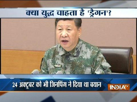 Xi Jinping asks Chinese Army to be ready for war