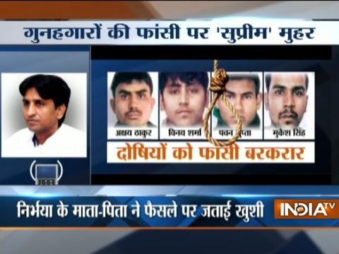 Happy that though justice is delayed but not denied, says Kumar Vishwas on Nirbhaya Case