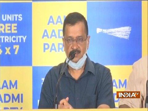 Good to see opposition parties are praising AAP's good work, says Kejriwal on Sidhu's tweet