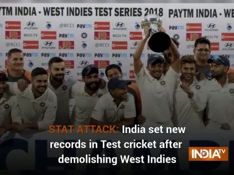 STAT ATTACK: India set new records in Test cricket after demolishing West Indies