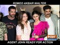 John Abraham and Mouni Roy sizzle at Romeo Akbar Walter Trailer launch
