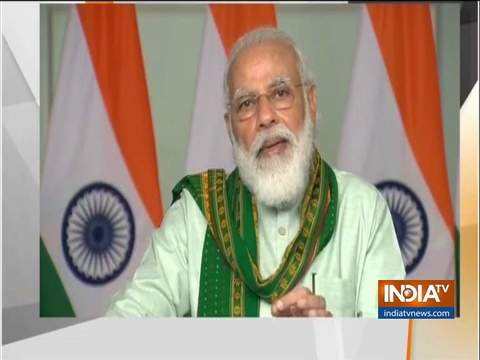 Rs 17,000 crores of PM-Kisan Samman Nidhi have been deposited into bank accounts of 8.5 crore farmers: PM Modi