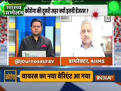 AIIMS director Randeep Guleria asnwers imp questions about covid vaccine