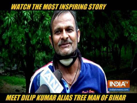 Watch the inspiring story of Dilip Kumar alias Tree Man of Gaya, Bihar