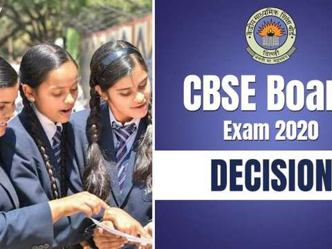 CBSE Board Exams 2020: Class 10 exams cancelled; Class 12 students to have option