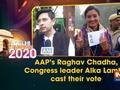 Watch: Gandhi family cast their vote