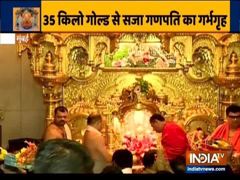 श्री सिद्धिविनायक मंदिर पर देखें इंडिया टीवी की रिपोर्ट