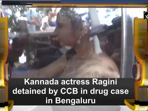Kannada actress Ragini detained by CCB in drug case in Bengaluru