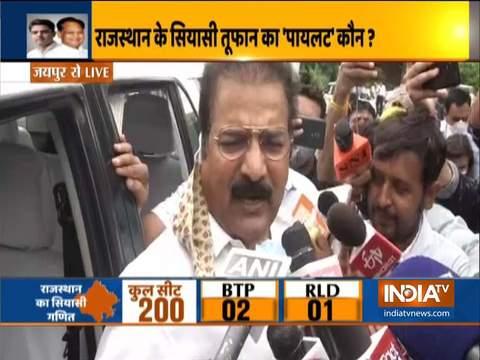 राजस्थान के लोग सीएम अशोक गहलोत के नेतृत्व में सरकार का पूर्ण कार्यकाल देखना चाहते हैं: प्रताप सिंह खाचरियावास