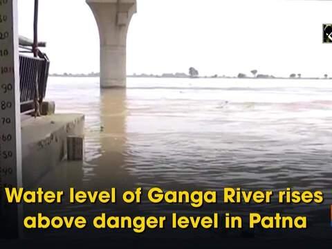 Water level of Ganga River rises above danger level in Patna
