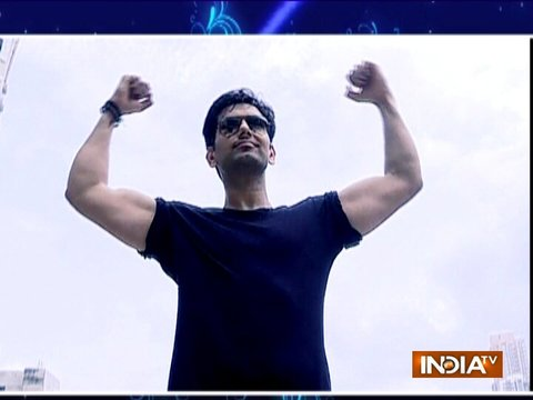 TV actor Rahul Sharma gives fitness tips