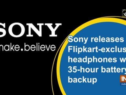 Sony releases Flipkart-exclusive headphones with 35-hour battery backup