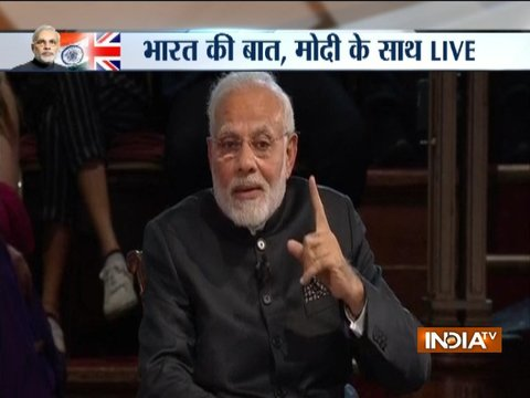 PM Narendra Modi's Bharat Ki Baat Sabke Saath event in London