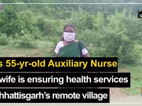 This 55-yr-old Auxiliary Nurse Midwife is ensuring health services in Chhattisgarh's remote village