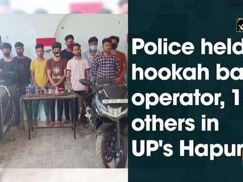 Police held hookah bar operator, 11 others in UP's Hapur