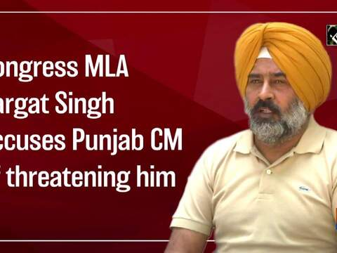 Congress MLA Pargat Singh accuses Punjab CM of threatening him