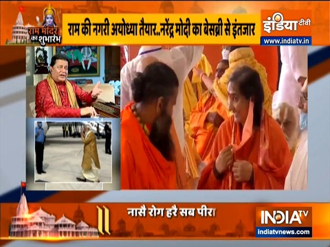 Bhajan Singer Anup Jalota dedicates spiritual songs to Lord Rama