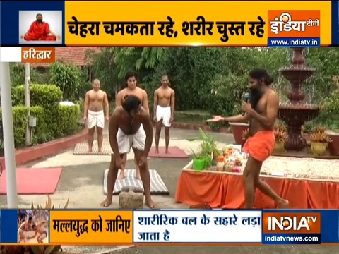 Make your mind and body strong with Swami Ramdev's Power yoga