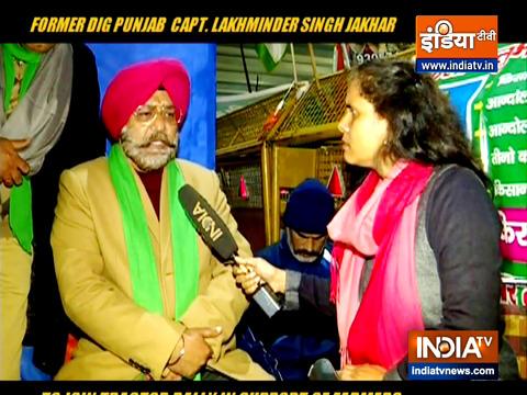 पंजाब के डीआईजी लखमिंदर सिंह जाखड़ ने किसानों के समर्थन में ट्रैक्टर रैली में शामिल होने के लिए अपने पद से इस्तीफा दिया