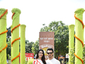 Loveyatri: Aayush Sharma and Warina Hussain promote their film in Delhi