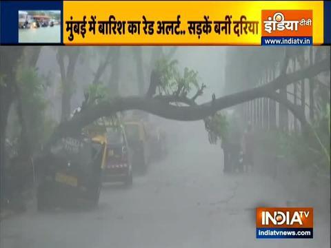 मुंबई के कई हिस्सों में फिर हुई भारी बारिश