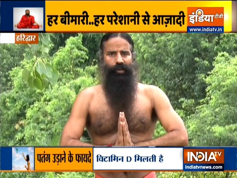 Follow Swami Ramdev's yoga asanas and tips to keep your body healthy