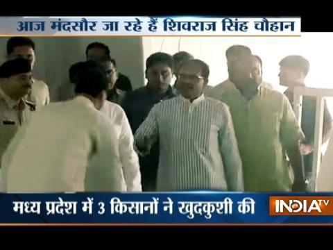 MP Farmers Stir: CM Shivraj Singh Chouhan to visit Mandsaur today