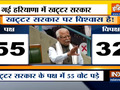 No confidence motion against Haryana government defeated in the Assembly