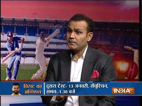 Virat Kohli will lead India from the front in South Africa: Virender Sehwag tells India TV