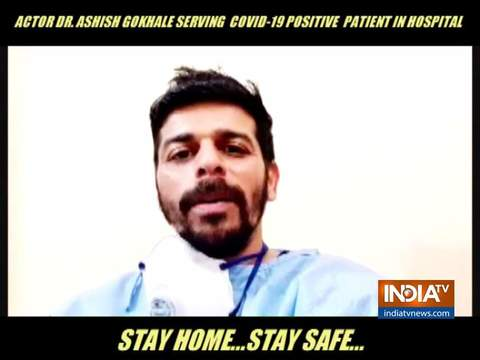 Dr. Ashish Gokhale is back on duty amid COVID-19 pandemic