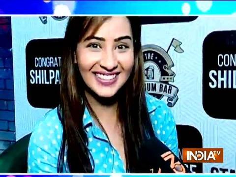 SBAS team in a conversation with Shilpa Shinde