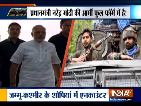 जम्मू-कश्मीर में आतंकियों का खात्मा जारी, सुरक्षाबलों ने अब तक 12 आतंकियों को मार गिराया