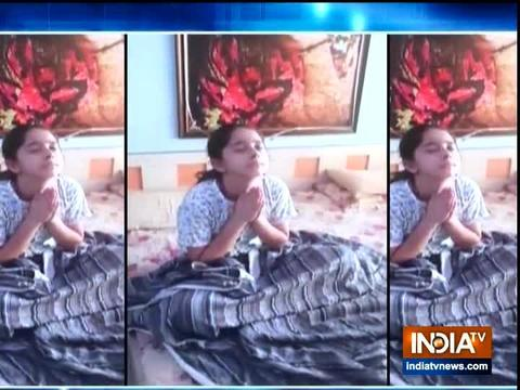 Watch how TV child actress Deshna Dugad is spending her lockdown days