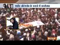 Jammu & Kashmir: Hundreds gather for 44 Rashtriya Rifles jawan Aurangzeb's final rites