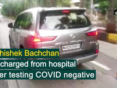 Abhishek Bachchan discharged from hospital after testing COVID negative
