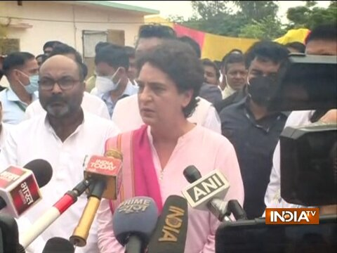 Ground Report   Priyanka Gandhi demands that Lakhimpur Kheri panchayat polls be held again