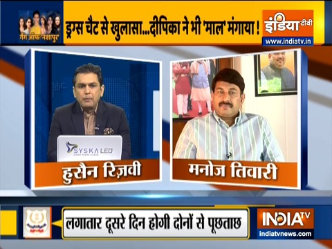 Manoj Tiwari expresses sadness on big names surfacing in Bollywood drugs probe