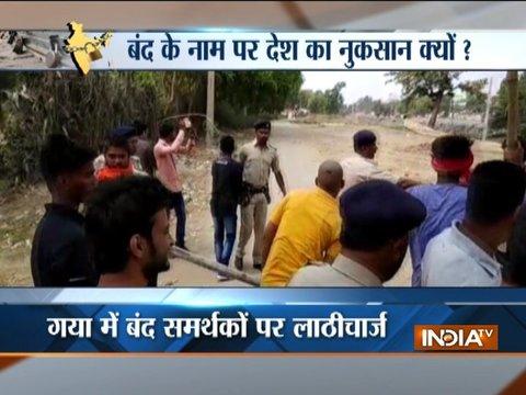 Bharat Bandh: Dozen injured in violent clashes in Bihar; security tightened in UP