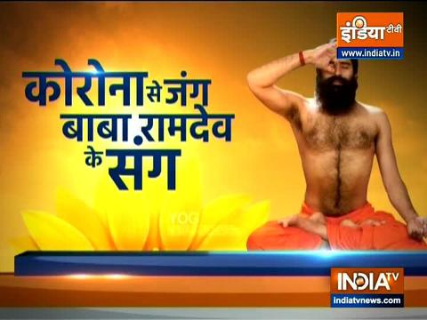 Toubled by headache, know from Swami Ramdev the best yoga and ayurvedic remedy