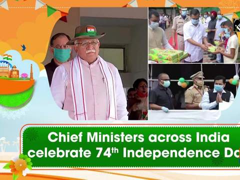 Chief Ministers across India celebrate 74th Independence Day