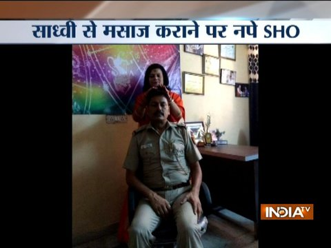 दिल्ली में साध्वी से मसाज कराने पर जनकपुरी के एसएचओ को निलंबित कर दिया गया