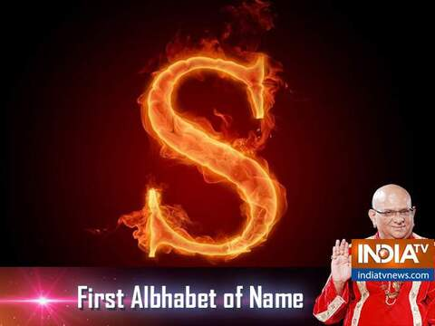 People whose name begins with C will have good financial status, know about other alphabets